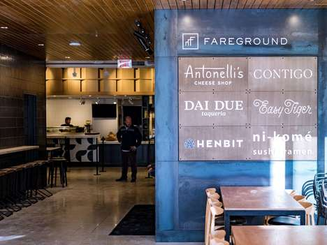 Texan Restaurant-Focused Food Halls - The Fareground Food Hall Celebrates Local Austin Restaraunts