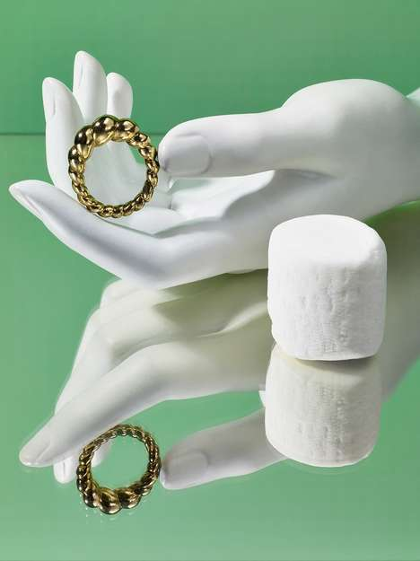 Pastry-Inspired Jewelry - Jeannie Kim Designs Jewelry Inspired by Korean Pastries