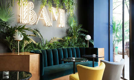 Refined Karaoke Bar Concepts - Michael Malapert's 'BAM Karaoké Box' Boasts Art Deco Elements