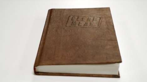 Lab-Grown Leather-Bound Books - Paul Shapiro's 'Clean Meat' Boasts a Cruelty-Free Leather Cover
