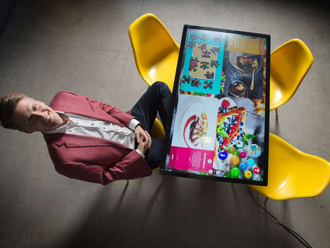 Interactive Touchscreen Dining Tables - Order Food and Play Games with Kodisoft's Tables