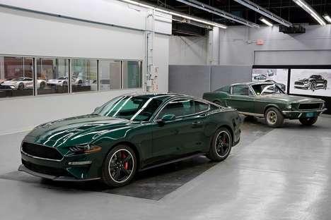 60s Film-Inspired Luxury Cars