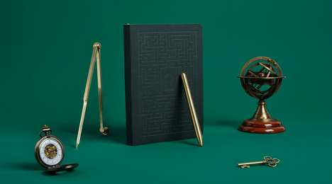 Cryptic Notebook Kits - Baron Fig's 'Lock & Key' Has a Hidden Puzzle Inside