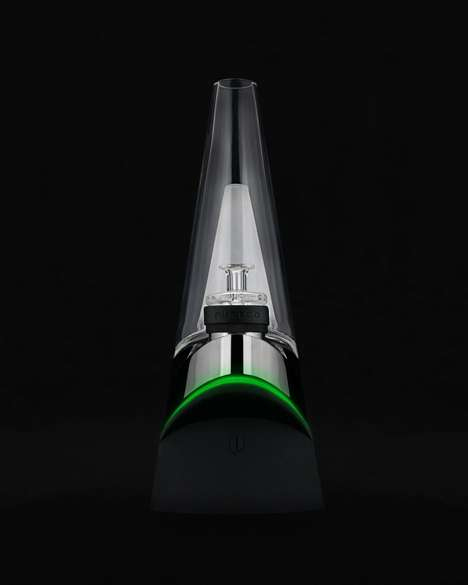 Intelligent Cannabis Vaporizers - The Peak Smart Bong is the First of Its Kind for Concentrates
