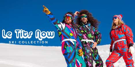 Ultra-Retro Ski Suits - Shinesty Brings the 80s to the Ski Slope with This Vintage Collection