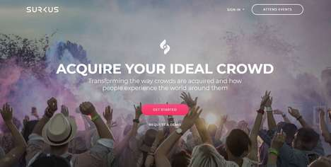 Crowd Creation Apps - 'Surkus' Uses Crowdsourcing to Manufacture Lineups and Crowds