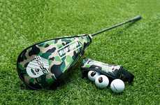 Streetwear Brand Golf Equipment - The BAPE Performance Line Moves the Fashion Brand Towards Sports