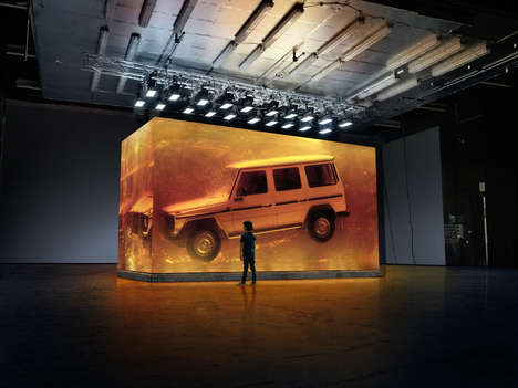 Amber-Encased Luxury Trucks