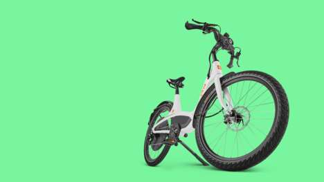 Accessible Commuter E-Bikes - The Elby 9-Speed Offers Comfort, Storage, and Versatility