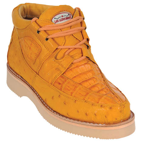 Exotic Skin Sneaker Collections - this new collection from Los Altos boasts luxurious materials