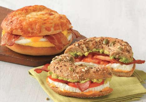 Yolk-Free Egg Sandwiches