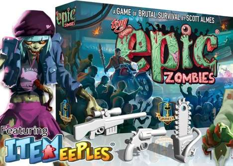 Zombie Survivalist Board Games - 'Tiny Epic Zombies' Has Players Fighting to Survive the Apocalypse
