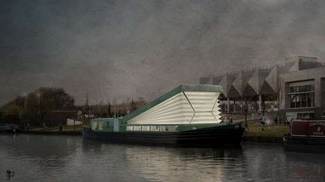 Conceptual Floating Chapels - Denizen Works Will Build a Boat That Doubles as a Church