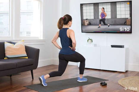 Movement-Tracking Fitness Apps - The Fitbit 'Coach' App is for the Microsoft Xbox Console