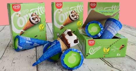 Vegan Ice Cream Cones