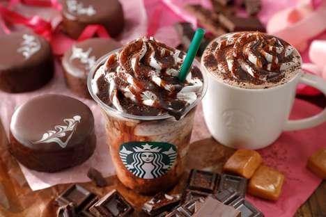 Decadent Valentine's Frappuccinos