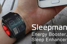 Energy-Tracking Wearables - The 'Sleepman' Enhances Your Sleep to Ensure You're Well-Rested