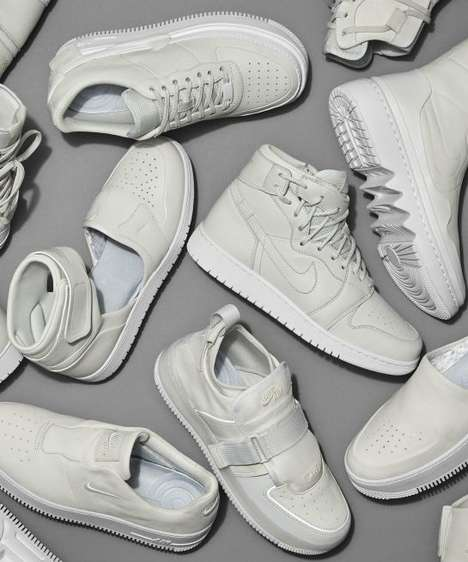 Female-Focused Sneaker Redesigns - Nike's 'The 1 Reimagined' Reinvents Classic Styles for Women