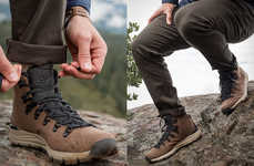 Durable Woven Hiking Boots