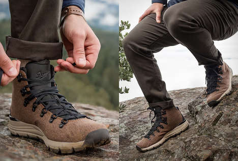 Durable Woven Hiking Boots - The Danner Mountain 600 Enduroweave Boots are Comfy and Waterproof