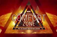 Meditative QSR Videos - The 'KFC Comfort Zone' Shares Relaxation, Mindfulness and Affirmations