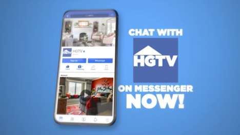 Decorating Assistant Chatbots - 'Hazel' is a Smart Assistant from HGTV on Facebook Messenger