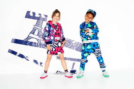 Travel-Themed Kid's Clothes - KENZO Released a New Line of Fashionable Clothes for Children
