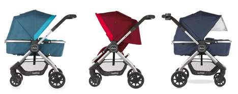 Transformative Travel Strollers - diono's 'quantum' Multi-Mode Stroller Converts and Folds with Ease
