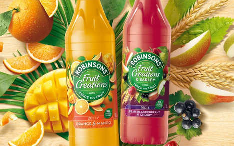 Mature Adult Juice Drinks - The New Robinsons Fruit Creations is Created with Grownups in Mind