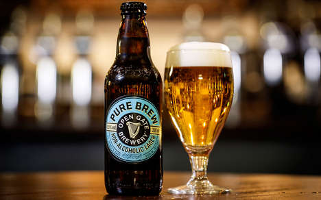 Premium Alcohol-Free Beers - The Guinness Open Gate Brewery Non-Alcoholic Lager is Full-Bodied