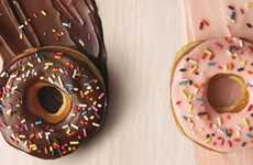 Artificial Dye-Free Donuts - Dunkin' Donuts Has Remove Artificial Food Dyes from its Donuts