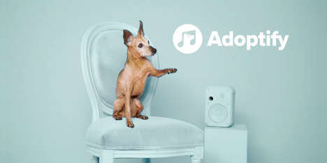Musical Adoption Campaigns - Spotify Created Adoptify with an Animal Shelter to Offer Music for Dogs