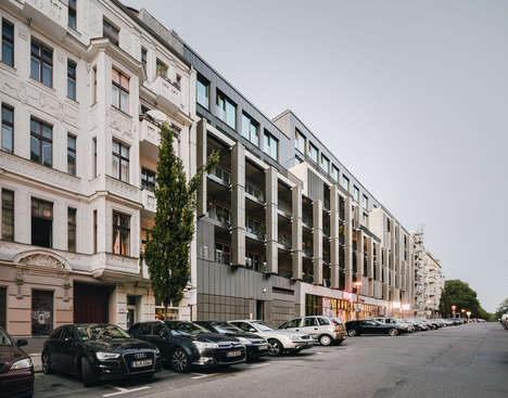 Camouflaged Apartment Complexes - Zanderroth Architekten's Design Seamlessly Merges with the Area