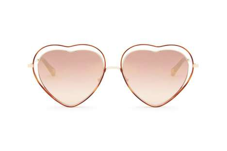 70s-Inspired Heart-Shaped Shades