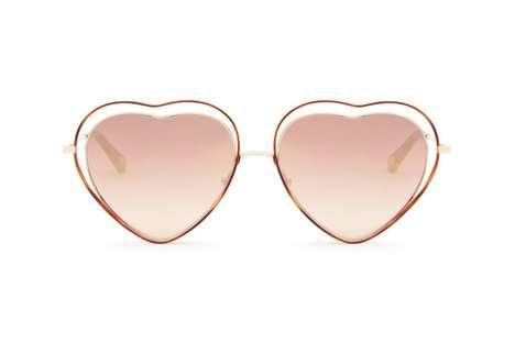 70s-Inspired Heart-Shaped Shades