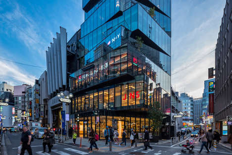 Off-Kilter Office Buildings - 'HULIC & New Shibuya' Features Skewed Glass Levels