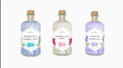 Color-Changing Gins