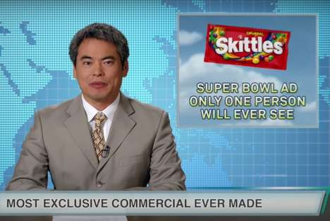 Humorous Exclusive Candy Ads