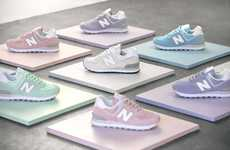 Spring-Ready Pastel Sneakers
