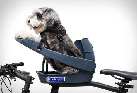 Pet-Friendly Bike Seats - The 'BuddyRider' Lets You Bring Furry Friends with You on Rides
