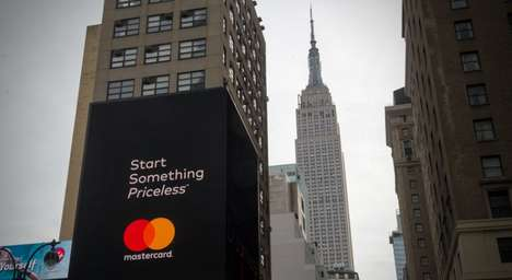 Charitable Credit Card Campaigns - Mastercard's Start Something Priceless Campaign Focuses on Giving