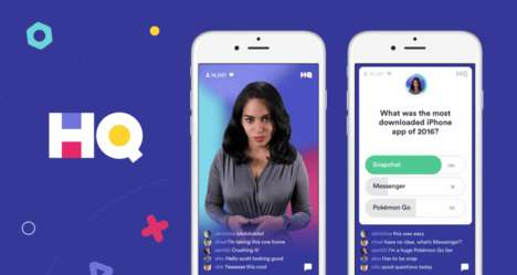 Live British Quiz Apps - The HQ Trivia UK Version Features Questions Geared Toward Brits