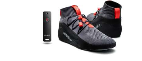 Foot Compression Therapy Wearables - The 'Footbeat' Alleviates a Variety of Foot Problems