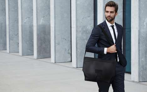 Modular Organization Messenger Bags - The 'FIXER' Bag is Customizable and Adaptive