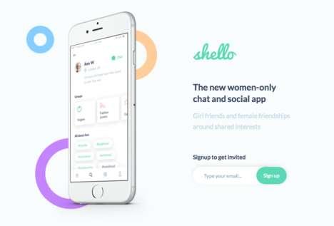 Women-Only Social Apps
