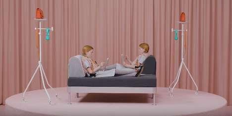 Modular Designer-Made Sofas