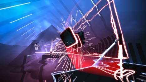 Rhythmic VR Saber Games - 'Beat Saber' is a Cross Between Jedi Fighting and Dance Dance Revolution