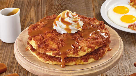 Crunchy Caramel Pancake Dishes