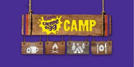 Chocolate-Centric Pop-Up Camps