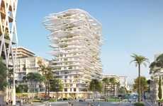 Tree-Covered Canopy Towers - Sou Fujimoto's Mixed-Use Canopy Building is Coming to Nice, France